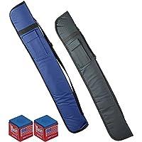 Renzi Line Prince fodero porta stecca inbottito in tessuto nero capacita sino a due calci e due punte con omaggio.