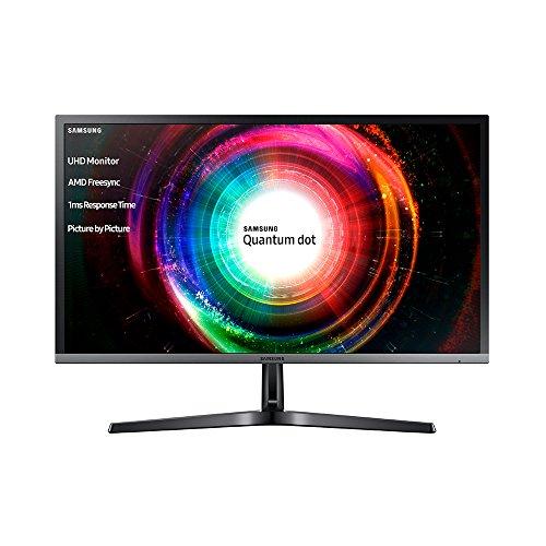 Samsung LU28H750UQUXEN 70,8 cm (28 Zoll) Monitor (HDMI, DVI, 1 ms Reaktionszeit) Schwarz