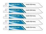 Tigersägeblätter für Metall Zähne/Zoll 14 Typ M14 5 Stück