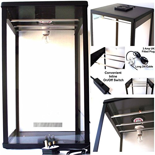 51nGNrft OL. SS500  - Biltong Maker Biltong Box Beef Jerky Dehydrator Biltong Spice with 100g FREE SPICE and Light Bulb
