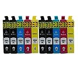 Kompatible Tintenpatronen Ersatz für Epson 29 XL T29 T2991 Hohe Kapazität mit Dem Neuesten Aktualisierten Chip Kompatibel für Epson Expression Home XP-332 XP-335 XP-235 XP-432 XP-435 XP-245 XP-247 XP-342 XP-345 XP-442 XP-445 Tintenpatronen für Inkjet Drucker (4 Schwarz,2 Cyan,2 Magenta, 2 Gelb)