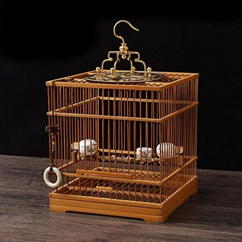 XWYGW Haustierbett Vogel Träger Flug Cage, Klassik Upgraded und haltbarer Indoor-Vogelkäfig Papageienkäfig Außenvogelzuchtkäfig, Geeignet for Parrot/Vogel -