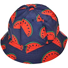 ZLYC Gorro unisex tipo pescador, estilo funky, diseño de fruta de la pasión impreso, ideal para usar al aire libre