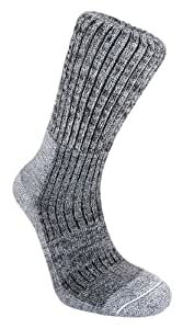 Bridgedale Merinofusion Trekker Men's Sock - Grey, 6-8.5