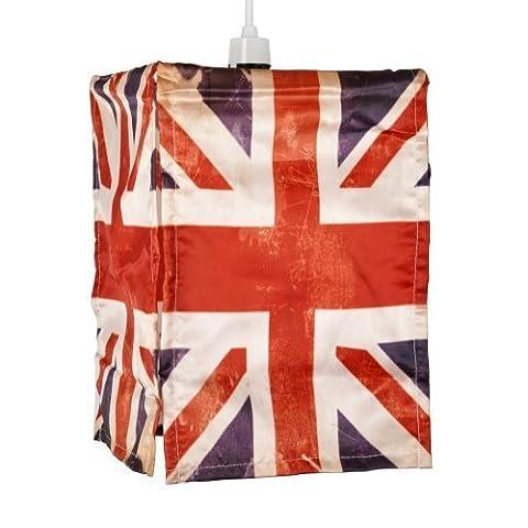 Vintage Style Union Jack Flag Ceiling Pendant Light Shade