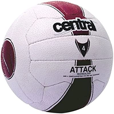 Central equipo deportes partido formación y práctica 18Panel Attack Netball Tamaño 5–4