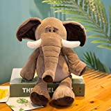 Weicher Plüsch Spielzeugs Giraffe Elefant AFFE Löwe Tiger Kinder Aktivität Geschenk Plus Spielzeug 35Cm 0.2Kg Elefant