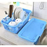#10: One Pearl Multi Kitchen Sink Dish Plate Drainer Drying Rack Wash Organizer Tray Holder Basket