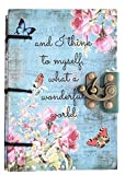 #8: Craft Play Handicraft Wonderful world Print Special Binding With Lock