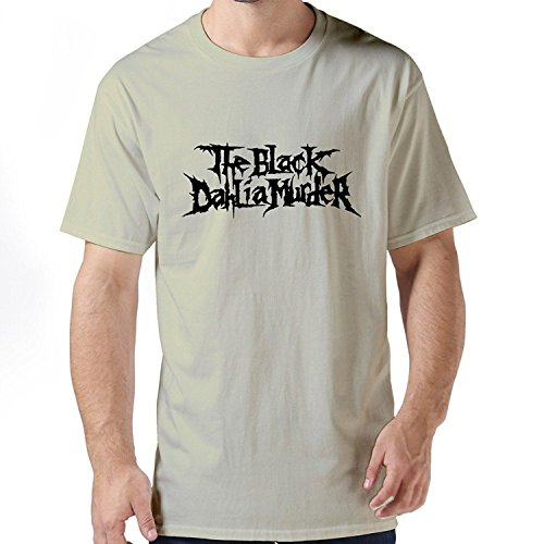 Mens Cool Style Screw Neck The Black Dahlia Murder TshirtXXLarge