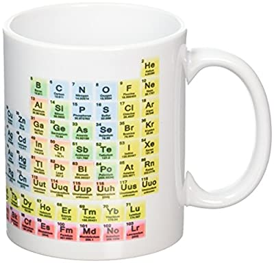 Periodic Table Science Chemistry Novelty Mug Tea Coffee Gift Office Cup by TWISTED ENVY