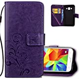 Best GALAXY WIRELESS Cases For Galaxy Core Primes - Samsung g360 Wallet case Leather cotdinforca Premium pu Review