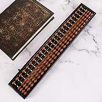 Youliy Abacus aritmético tradicional, varillas Soroban estándar de 23 dígitos, herramienta de aprendizaje matemático para niños