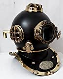 THE REX OF KINGS Antik Tauchhelm Full Steel Diving Divers Vintage Helm U.S Navy Mark V