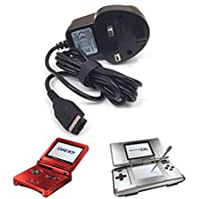Nintendo Gameboy Advance SP Mains Power Adapter Battery Charger (NDS, DS)