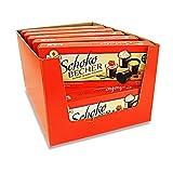 Schokobecher 16er Pack (16 Packungen Eierlikör Becher à 16 St / 125 g)