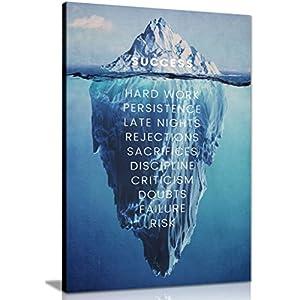 """Kunstdruck auf Leinwand, Motiv """"Erfolg"""", inspirierend, motivierend, A0 91x61cm (36x24in)"""