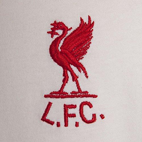 Score Draw Liverpool FC Retro Trikot 1973 Mit Rückenummer 7 auswärts weiß