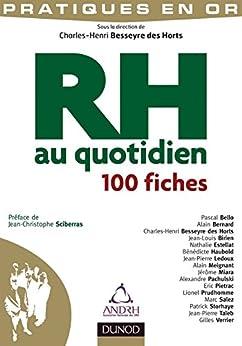 RH au quotidien : 100 fiches (Pratiques en Or) par [Horts, Charles-Henri Besseyre Des]