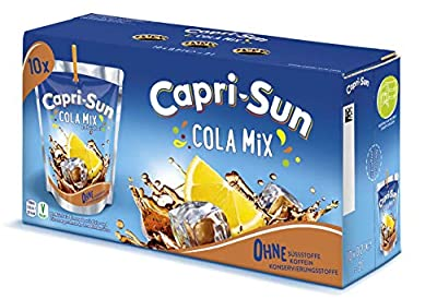 Capri-Sun Cola Mix, 4 x 10 x 200 ml