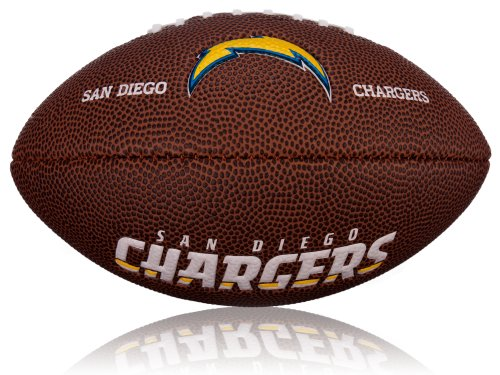 Mini San Diego Chargers Logo, Braun, 2, WL0206442042 (Nfl Footbal)