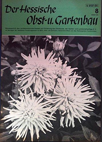 Der Botanische Garten Tübingen, in: DER HESSISCHE OBST- U. GARTENBAU, 8/1979.