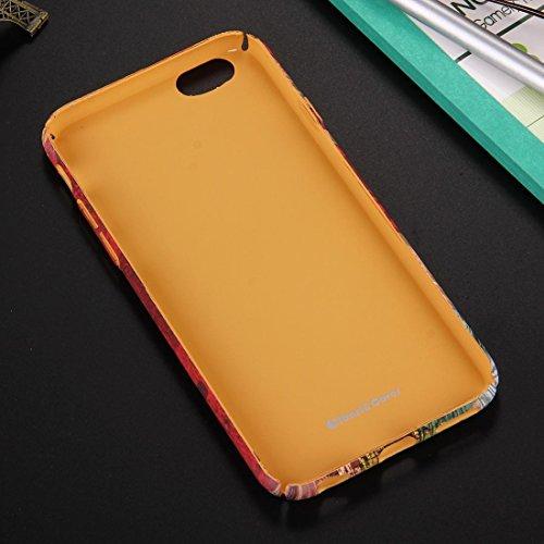 Phone case & Hülle Für iPhone 6 Plus / 6s Plus, Retro Style Pattern PC Schutzhülle ( SKU : IP6P1170E ) IP6P1170B