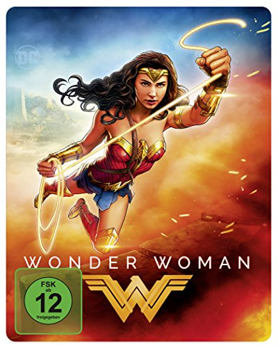Wonder Woman als Steelbook mit Illustrated Artwork (Limited Edition exklusiv bei Amazon.de) [Blu-ray]