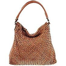 85bb572dcd1f5 MIO Sun weiche Damen Tasche Vintage Ledertasche Schultertasche Frauen  Beutel Taschen Handtaschen