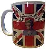 HM Queen Elizabeth II Ninetieth 90th Birthday Commemorative Tea Coffee Mug - Boxed by tlux4u