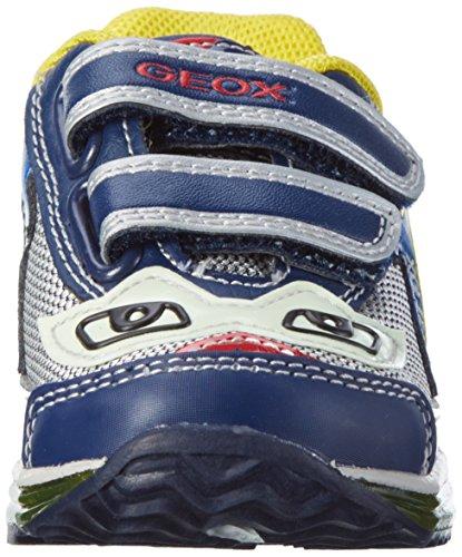 Geox Baby Jungen B Todo Boy A Lauflernschuhe Blau (Navy/Silverc0673)