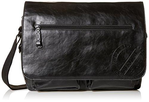 Preisvergleich Produktbild Bestway Collegetasche Schultertasche,  Messenger (schwarz)