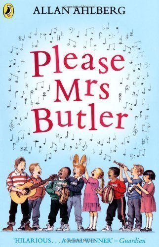 Please Mrs Butler: Verses (Puffin Books) by Ahlberg, Allan Re-issue Edition (1984)