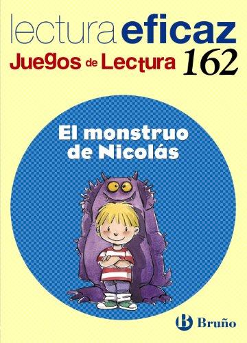 El monstruo de nicolás juego de lectura (castellano - material complementario - juegos de lectura)