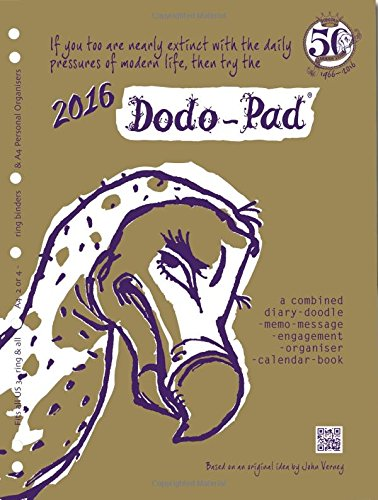 Dodo Pad A4 2/4 Ring/Us Letter 3-Ring/Filofax-Compatible 2016 Universal Diary Refill - Week to View Calendar Year Diary: A Combined Family Diary-Doodle-Memo-Message-Engagement-Organiser-Calendar-Book - Universal Refill