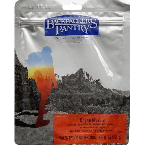 Backpacker Pantry Chana Masala: 2 porzioni