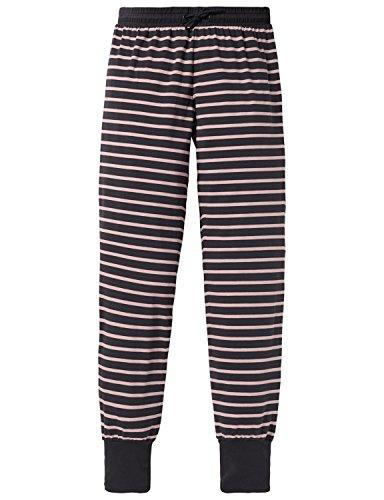 Schiesser Mädchen Schlafanzughose Mix & Relax Jerseypants, Grau (Anthrazit 203), 152 (Herstellergröße: S)