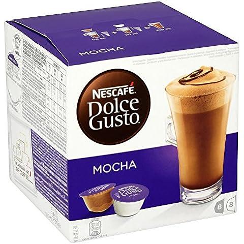 Nescafé Dolce Gusto Mocha Cápsulas con Sabor a Chocolate - 8 Unidades