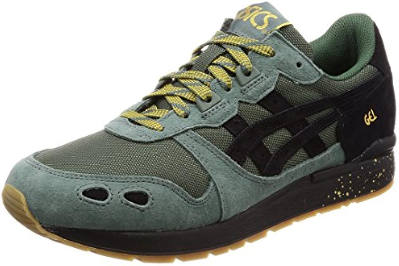 Asics - Zapatillas de Piel para Hombre Multicolor Dark Forest/Schwarz -