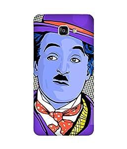 Charlie Chaplin Art Samsung Galaxy A9 Case