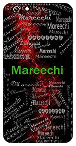 Mareechi (Ray Of Light, Also Name Of A Constallation) Name & Sign Printed All over customize & Personalized!! Protective back cover for your Smart Phone : Moto X-Play