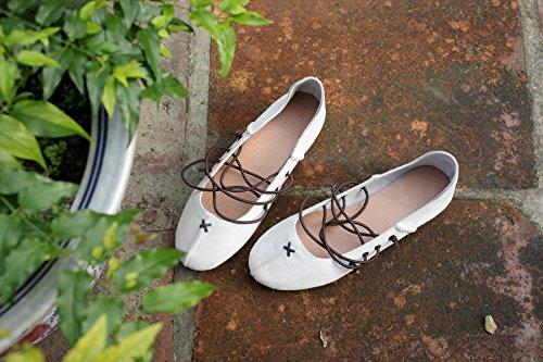 weiche boden schuhe, schuhe ballet shoes handgefertigten lederschuhe 38
