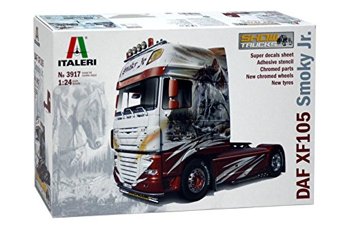 Italeri 3917 - daf xf105 smoky jr  showtrucks model kit  scala 1:24