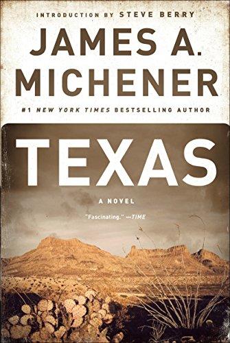 Texas por James A. Michener