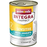 Animonda Integra Protect Sensitive mit Pferd und Amaranth, Diät Hundefutter, Nassfutter Bei Futtermittelallergie (6 x 400 g)