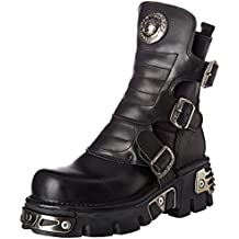 New Rock Unisex-Erwachsene M-1482x-s1 Biker Boots, Schwarz, UK