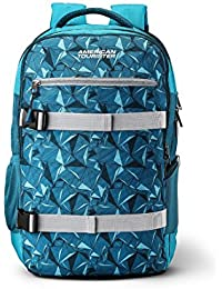 American Tourister X-Lete 30.5 Ltrs Blue Laptop Backpack (Fi8 (0) 01 001)