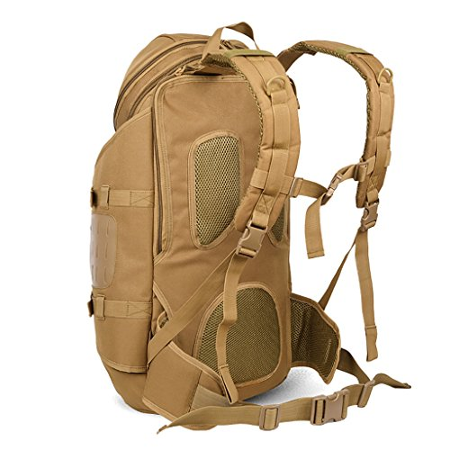 zaino trekking Spalle degli uomini di grande capacità esterna di alpinismo del sacchetto di campeggio d'escursione di viaggio Camouflage pacchetto impermeabile Zaini da escursionismo ( Colore : A , di D