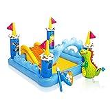 Intex Zentrum-Spiele mit Spritzwasserschutz, Form Schloss, 185x 152x 107cm (57138)