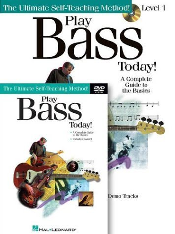 Play Bass Today! Beginner's Pack: Book/CD/DVD Pack (Play Today Instructional Series) (2003-03-01)